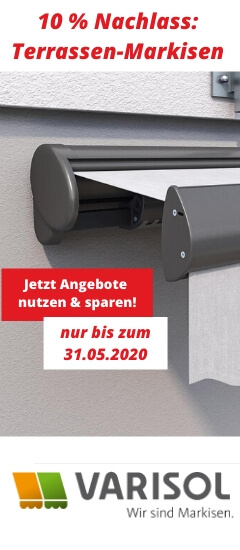 Angebot Markisen Mai 2020 -Varisol - hochkant