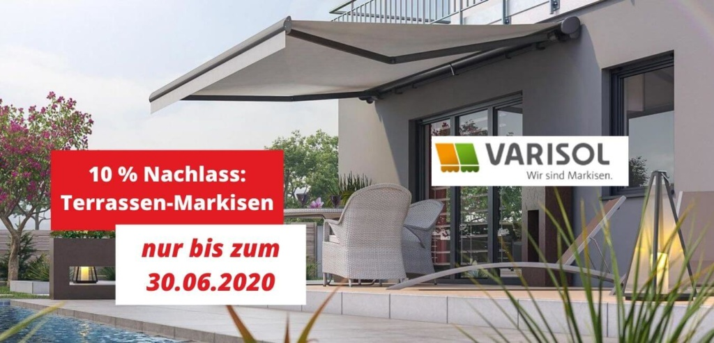 Angebote Markisen Oldenburg Juni 2020